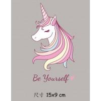 "Термокартинка ""Be Yourself"" (15*9 см)"