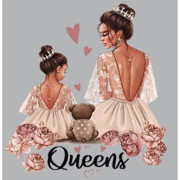 """Термокартинка """"Queens"""""""