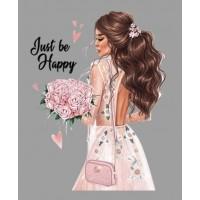 "Термокартинка ""Just be happy"""