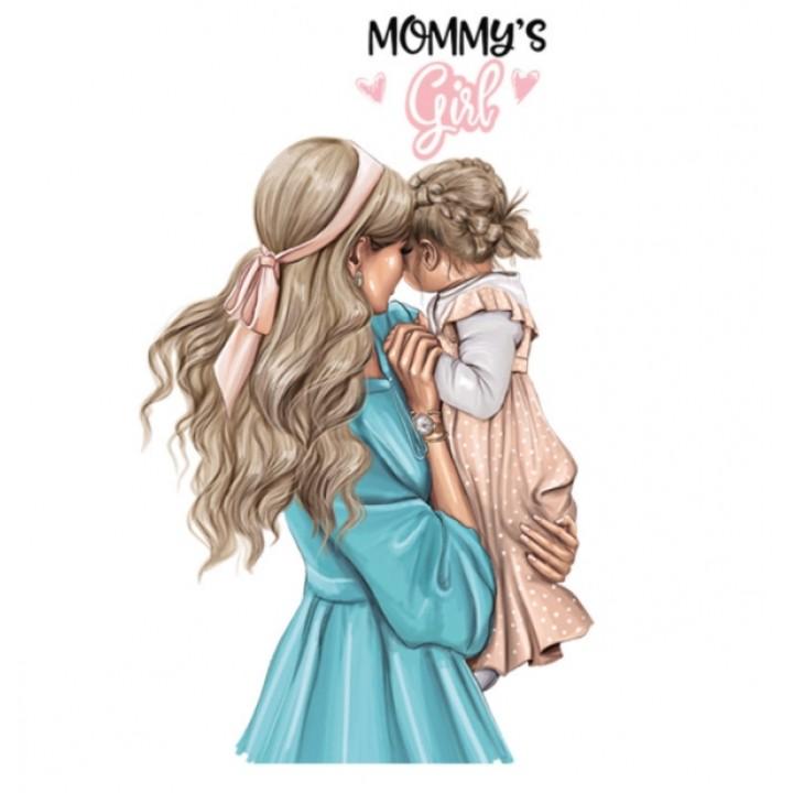 "Термокартинка ""Mommy's girl"""