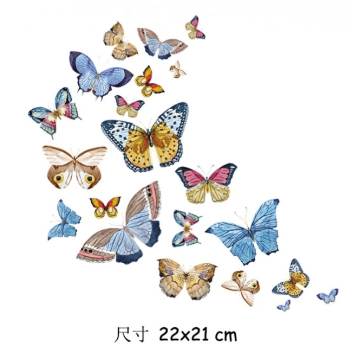 "Термокартинка ""Бабочки"" (22*21 см)"