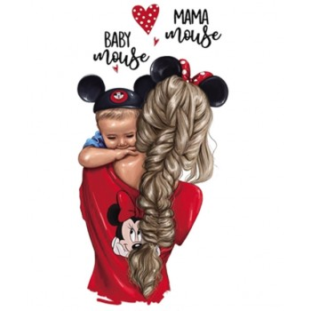"""Термокартинка """"Baby mouse Mama mouse"""""""
