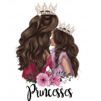 """Термокартинка """"Princesses"""""""