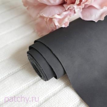 Кожзам Soft touch черный
