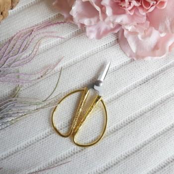 Ножницы маленькие для ручной работы-золото