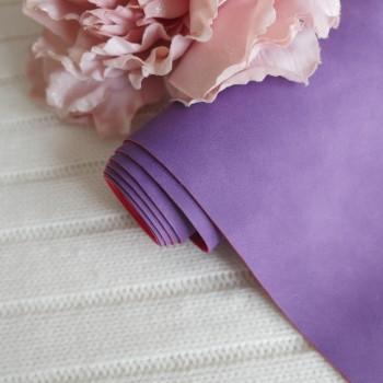 Кожзам Soft touch фиолетовый