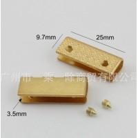 Металлическая кромка 25*10*3,5 мм Золото