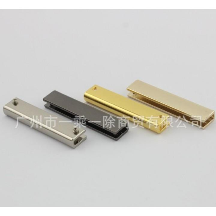 Металлическая кромка 50*8,2*2,7 мм (Золото, Серебро, Темное серебро)