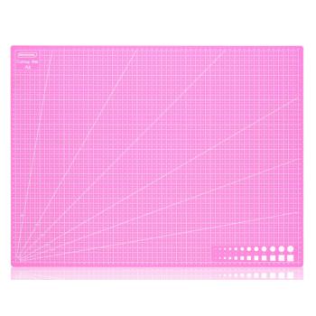 """Коврик (мат) для резки """"Розовый"""" (формат A2, A3, A4)"""