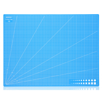 "Коврик (мат) для резки ""Голубой"" (формат A2, A3, A4)"