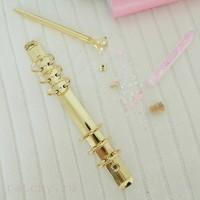 Кольцевой механизм диаметр 3 см 22см 6 колец A5 золото