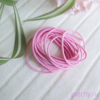 Резинка круглая 2.5 мм Розовый (уп. 5 м)
