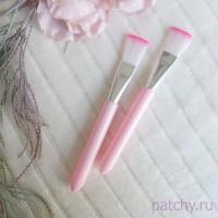 """Синтетическая кисть """"Розовый хвостик"""" (розовый)"""