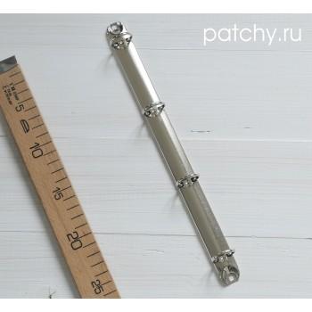 Кольцевой механизм диаметр 2.5см 29см 4 кольца A4 серебро