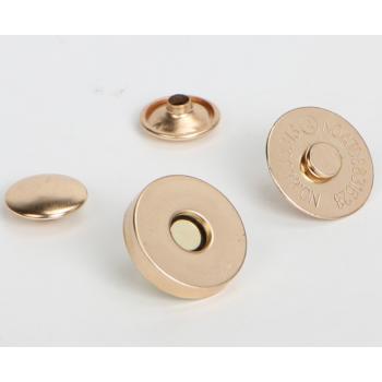 Магнитная кнопка 18 мм и 14 мм (розовое золото, старое золото, серебро, темное серебро)
