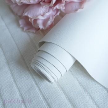 Переплетный кожзам под кожу Белый (ЦВЕТ 11)
