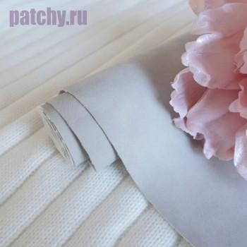 Кожзам Soft touch серый