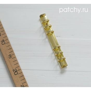 Кольцевой механизм диаметр 2.5см 18см 6 колец A6 золото